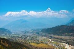 Πόλη Phokara στοκ φωτογραφία