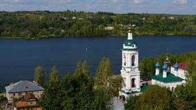 Πόλη Ples στο Βόλγα Στοκ φωτογραφίες με δικαίωμα ελεύθερης χρήσης