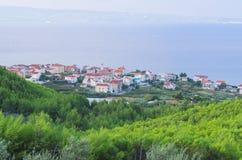 Πόλη Podstrana, Κροατία Στοκ εικόνα με δικαίωμα ελεύθερης χρήσης