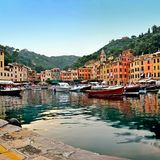 Πόλη Portofino Στοκ Εικόνες