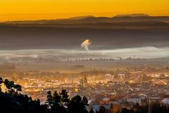 Πόλη Provicial στην Προβηγκία, Γαλλία Στοκ Εικόνες