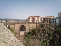Πόλη Puente Nuevo της Ronda Στοκ Εικόνες