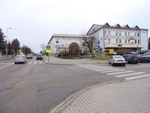 Πόλη Sakiai, Λιθουανία στοκ εικόνες με δικαίωμα ελεύθερης χρήσης