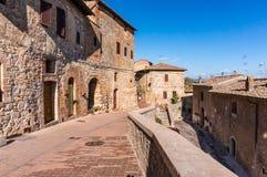 Πόλη SAN Gimignano Στοκ εικόνα με δικαίωμα ελεύθερης χρήσης