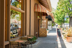 Πόλη Saratoga, Καλιφόρνια Στοκ εικόνα με δικαίωμα ελεύθερης χρήσης
