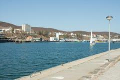 Πόλη Sassnitz στη Γερμανία Στοκ εικόνες με δικαίωμα ελεύθερης χρήσης
