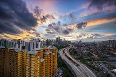 Πόλη Scape, Μαλαισία Στοκ Φωτογραφίες