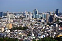 Πόλη scape Ταϊλάνδη Στοκ Φωτογραφία