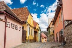 Πόλη Sighisoara Στοκ φωτογραφία με δικαίωμα ελεύθερης χρήσης