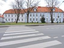 Πόλη Silute, Λιθουανία στοκ εικόνες
