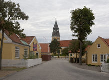 Πόλη Skagen στη Δανία Στοκ φωτογραφία με δικαίωμα ελεύθερης χρήσης