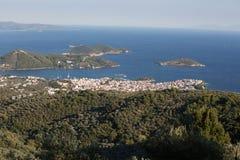Πόλη Skiathos Στοκ εικόνες με δικαίωμα ελεύθερης χρήσης