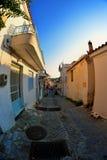 Πόλη Skyathos Στοκ φωτογραφίες με δικαίωμα ελεύθερης χρήσης