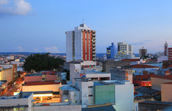 Πόλη Sorocaba στη Βραζιλία στοκ εικόνες