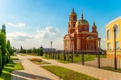 Πόλη Stroitel, περιοχή Belgorod Ρωσία Στοκ εικόνες με δικαίωμα ελεύθερης χρήσης