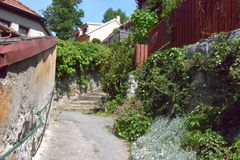 Πόλη TÅ™ebÃÄ  Στοκ εικόνες με δικαίωμα ελεύθερης χρήσης