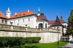 Πόλη Teplice, Βοημία, Τσεχία, Ευρώπη SPA Στοκ Εικόνες