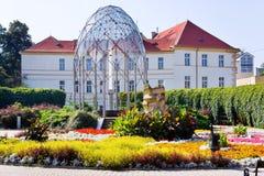 Πόλη Teplice, Βοημία, Τσεχία, Ευρώπη SPA στοκ εικόνα με δικαίωμα ελεύθερης χρήσης