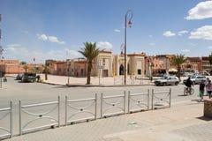Πόλη Tinghir στο νότιο Μαρόκο Στοκ Φωτογραφίες