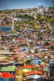 Πόλη Valparaiso, Χιλή στοκ φωτογραφία
