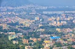 Πόλη Visakhapatnam scape στην Ινδία στοκ φωτογραφίες με δικαίωμα ελεύθερης χρήσης