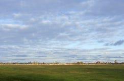 Πόλη Wittenberge Elbe Στοκ φωτογραφία με δικαίωμα ελεύθερης χρήσης