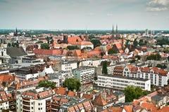 Πόλη Wroclaw, Πολωνία Στοκ Εικόνες