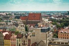 Πόλη Wroclaw, Πολωνία Στοκ εικόνα με δικαίωμα ελεύθερης χρήσης