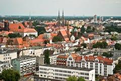 Πόλη Wroclaw, Πολωνία Στοκ Φωτογραφία