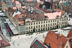 Πόλη Wroclaw, Πολωνία Στοκ Εικόνα