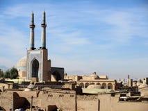 Πόλη Yazd στοκ εικόνα με δικαίωμα ελεύθερης χρήσης