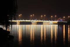 Πόλη Zhujiajiao, νότος του ποταμού Yangtze Στοκ Εικόνα