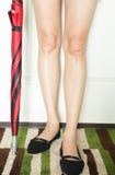 Πόδια γυναικών ` s Στοκ Εικόνα