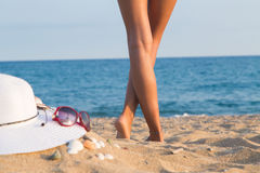 Πόδια ενός κοριτσιού, Bodyparts Στοκ φωτογραφία με δικαίωμα ελεύθερης χρήσης