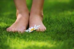 πόδια ευτυχή Στοκ Εικόνες