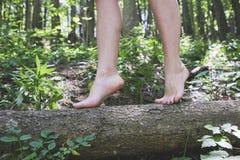 Πόδια κοριτσιών Στοκ εικόνα με δικαίωμα ελεύθερης χρήσης