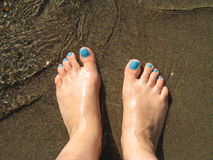 πόδια κοριτσιών s στοκ εικόνα