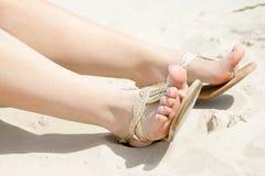 Πόδια μιας γυναίκας Στοκ Εικόνα