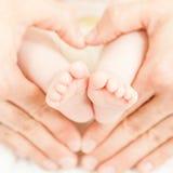 πόδια μωρών Στοκ Φωτογραφία