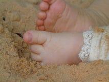πόδια μωρών Στοκ φωτογραφίες με δικαίωμα ελεύθερης χρήσης