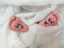 πόδια μωρών Απεικόνιση αποθεμάτων