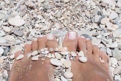 Πόδια ομορφιάς Στοκ φωτογραφία με δικαίωμα ελεύθερης χρήσης