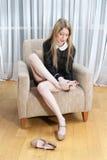 Πόδια που κουράζονται Στοκ φωτογραφία με δικαίωμα ελεύθερης χρήσης