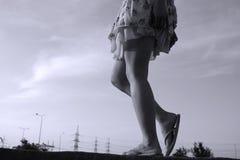 πόδια προκλητικά Στοκ Φωτογραφία