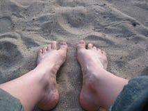 Πόδια σε Waikiki Στοκ εικόνες με δικαίωμα ελεύθερης χρήσης
