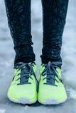 Πόδια χειμερινών δρομέων Στοκ φωτογραφία με δικαίωμα ελεύθερης χρήσης