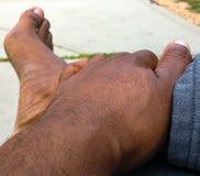 πόδια χεριών Στοκ εικόνα με δικαίωμα ελεύθερης χρήσης