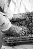 Πόδια Mehndi Στοκ εικόνα με δικαίωμα ελεύθερης χρήσης