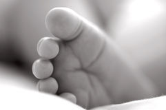 πόδι μωρών Στοκ εικόνα με δικαίωμα ελεύθερης χρήσης
