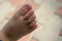 Πόδι παιδιών στοκ εικόνα